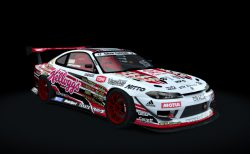 【Assetto Corsa】World Drift Tour Car Pack - Nissan Silvia S15 のスキン