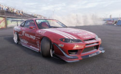CarX Drift Racing Online DSG S15用スキン「大昌カラー Mercury サヤカSPL」